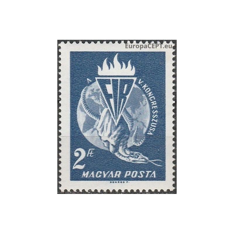 Čilė 1953, Pirmojo pašto ženklo atvaizdas
