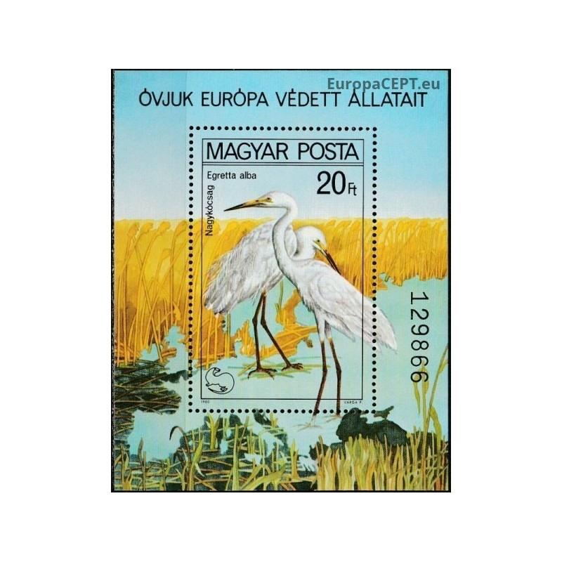 Vengrija 1990, Paukščiai