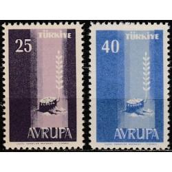 Turkija 1958. Europa...