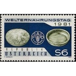 Austria 1981. World Food Day