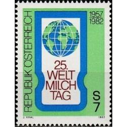 Austria 1982. World Milk day