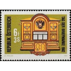 Austrija 1982. Pašto istorija