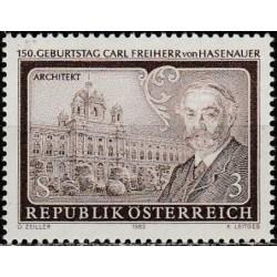 Austrija 1983. Architektas