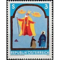 Austrija 1983. Vaikų piešiniai