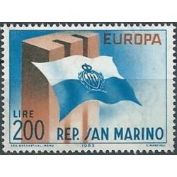 San Marino 1963. National Flag
