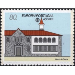 Azores 1990. Post Offices