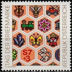 Austria 1990. Stamp Day