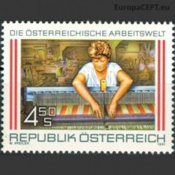 Austrija 1991. Pramonė