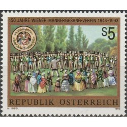 Austria 1993. Men chorus