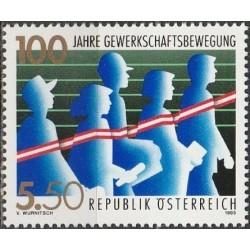 Austria 1993. Trade Unions
