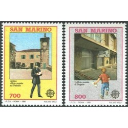 San Marinas 1990. Pašto...