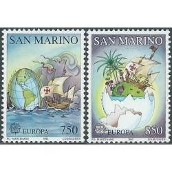 San Marino 1992. Voyages of...