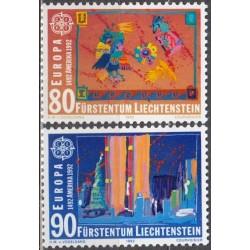 Liechtenstein 1992. Voyages...