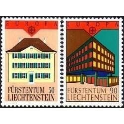 Liechtenstein 1990. Post...