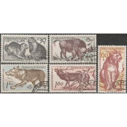 Czechoslovakia 1959. Fauna...