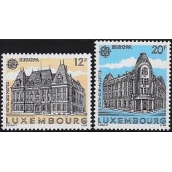 Liuksemburgas 1990. Pašto...