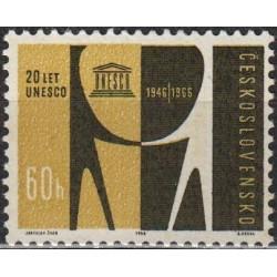 Čekoslovakija 1966. UNESCO
