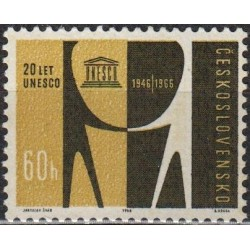 Czechoslovakia 1966. UNESCO