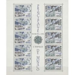 Monakas 1991. Europos...