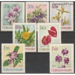 Czechoslovakia 1967. Flowers