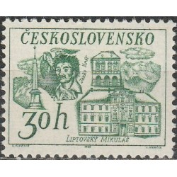 Čekoslovakija 1968. Miestų...