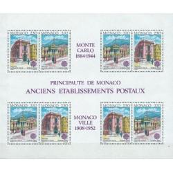 Monakas 1990. Pašto pastatai