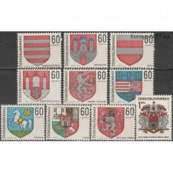 Czechoslovakia 1968. Coats...