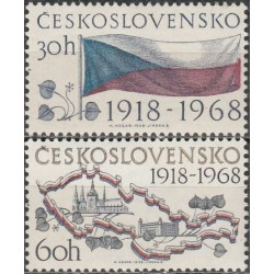 Czechoslovakia 1968. 50th...