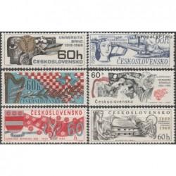 Čekoslovakija 1969. Mokslo...