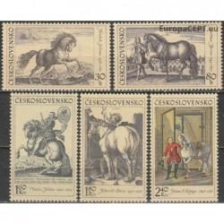 Czechoslovakia 1969. Horses...