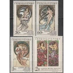 Czechoslovakia 1969. Paintings