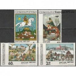 Czechoslovakia 1970. Paintings