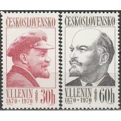 Čekoslovakija 1970. Leninas