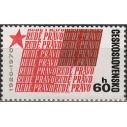 Čekoslovakija 1970. Laikraštis