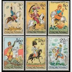 Čekoslovakija 1972. Arkliai...