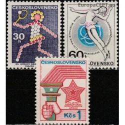 Czechoslovakia 1973. Sports