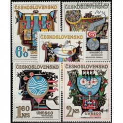 Czechoslovakia 1974. UNESCO...
