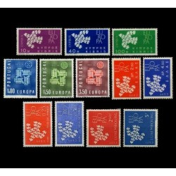 Set of stamps 1961. Europa