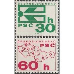 Czechoslovakia 1976. Zip codes