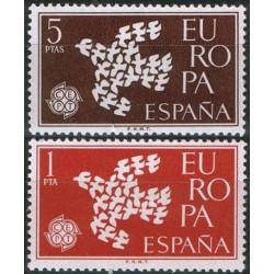Spain 1961. CEPT: Stylised...