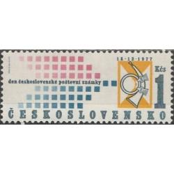 Czechoslovakia 1977. Stamp Day