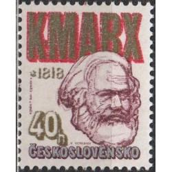 Czechoslovakia 1978. Karl Marx