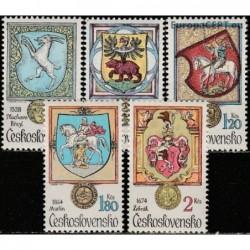 Czechoslovakia 1979. Coats...