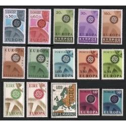 Rinkinys 1967. Europa