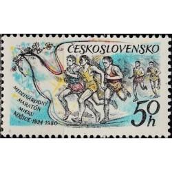 Czechoslovakia 1980. Marathon