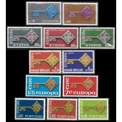 Set of stamps 1968. Europa