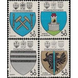 Čekoslovakija 1980. Miestų...