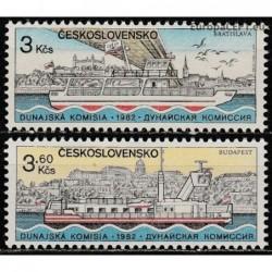 Czechoslovakia 1982. Ships...