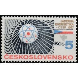 Čekoslovakija 1987. Atominė...
