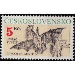 Czechoslovakia 1990.  Bats
